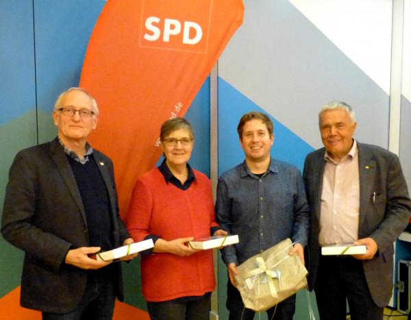 Karsten, Sonja, Kevin und Hans-Otto