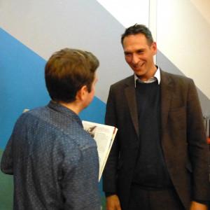 Kevin im Gespräch mit Oliver Schmidt-Gutzat